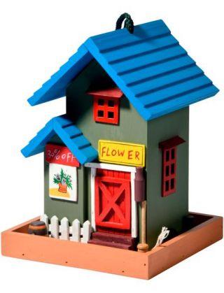 Vogelhaus »Flower Shop«, BxTxH: 18x18x23 cm